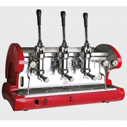 La Pavoni Lever 3 Group Espresso Machine L Series