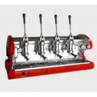 La Pavoni Lever 4 Group Espresso Machine L Series