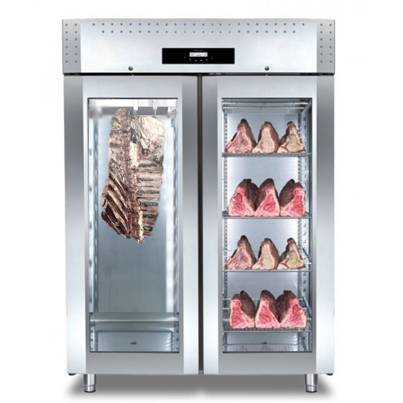 Beef aging cabinet cabinets matttroy for Arredo inox maturmeat