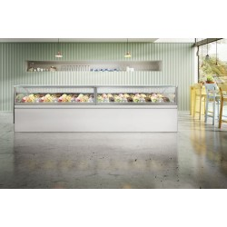 Frigomeccanica 24 Pans Premium Ice Cream Display Freezer