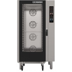 Tecnoinox Electric Combi Steamer Oven 16X(60/40cm) Electronic Control, Heat Probe & Cleaning System