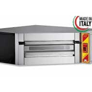 "GGF De Luxe Corner Single Deck Electric Pizza Oven 7x14"" Pizza"