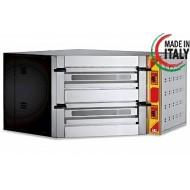 "GGF De Luxe Corner Twin Deck Electric Pizza Oven 14x14"" Pizza"