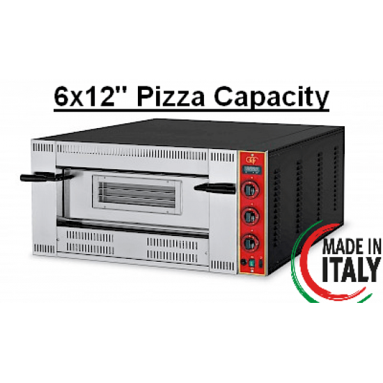 """GGF G6 Gas Pizza Oven 6x12"""" Pizza Capacity"""