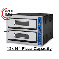 """GGF X66/36 Twin Deck Electric Pizza Oven 12x14"""" Pizza"""