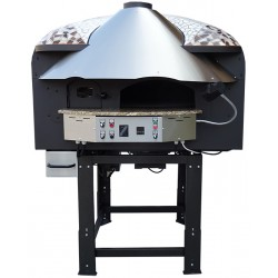 Dual Fuel Wood & Gas Rotating Pizza Oven MIX85RK Mosaic