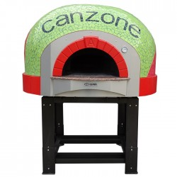 """Traditional Wood Fired Pizza Oven 7/12"""" D120K Mosaic"""