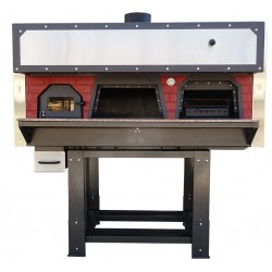 Traditional Wood Fired Pizza Oven with Barbecue D100FB