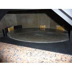 """Traditional Wood Fired Pizza Oven 5/12"""" With Rotating Base DR85K Silicone"""