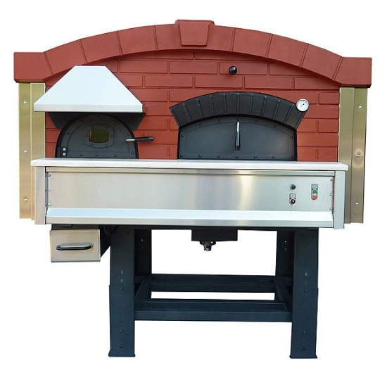 Traditional Wood Fired Pizza Oven With Rotating Base DR120 & DR140