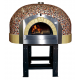 """Traditional Wood Fired Pizza Oven 4/12"""" D100K Mosaic"""