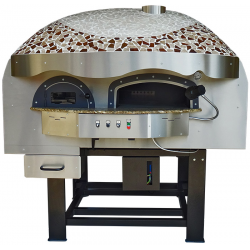 Wood Fired Pizza Oven DR120K w/ Rotating Base