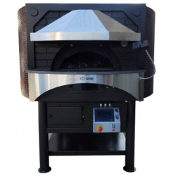 Rotating Gas Pizza Oven GR120C Digital Control & Two Burners