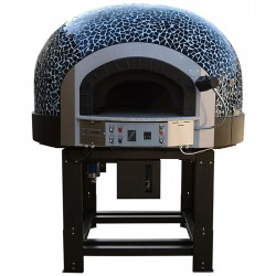 Traditional Gas Pizza Oven with Rotating Base GR110K Mosaic