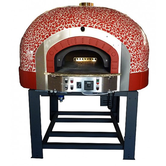 Traditional Gas Pizza Oven with Rotating Base GR85K Mosaic