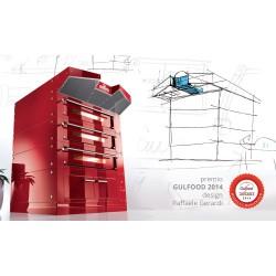 Italforni Bull BL Triple Deck Electric Pizza Oven