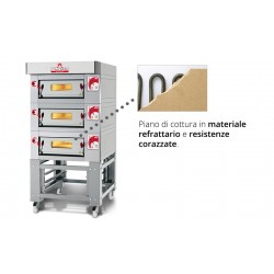 Italforni Triple Deck LSC LSB - Electric Pizza Oven