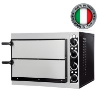 Prisma Food Small Basic 2/40 Double Deck Electric Pizza Oven