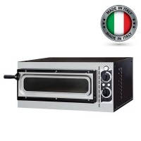 Prisma Food Small Basic 1/40 Vetro Single Deck Electric Pizza Oven
