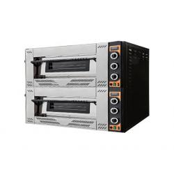 """Prisma G44 Gas Pizza Oven 4+4x12"""" Pizza Capacity"""