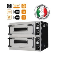 Prisma Food Trays 44 Twin Deck Electric Pizza-Bakery Oven