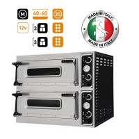 Prisma Food Trays 66 Twin Deck Electric Pizza-Bakery Oven