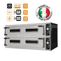 Prisma Food Trays 9+9 Twin Deck Electric Pizza-Bakery Oven