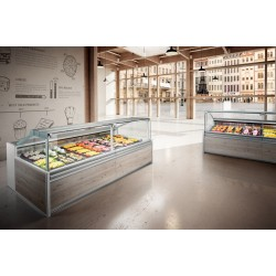 Frigomeccanica Fresh Meat - Butchers Display Counter Mirage Squared