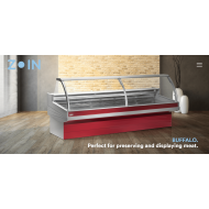 Zoin Buffalo Ventilated Butcher Serve Over Counter