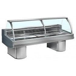Zoin Buffalo Ventilated Butcher Serve Over Counter Chiller