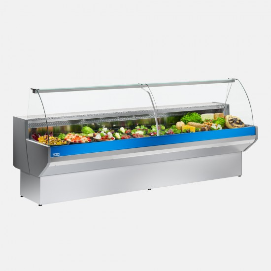 Zoin Patagonia Curved Glass Deli Display
