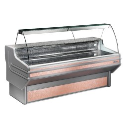 Zoin Jinny Curved Glass Meat and Deli Display