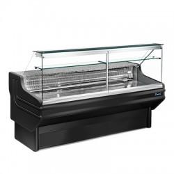Zoin Jinny Straight Glass Meat and Deli Display