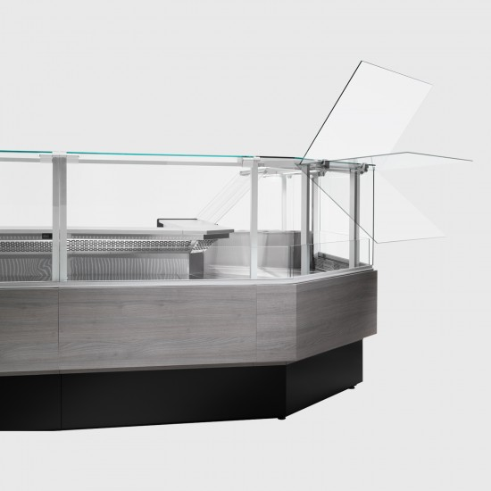 Zoin Porthos Ventilated Food Display Counter