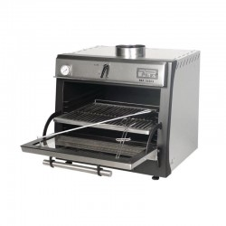 Pira 70 Lux Charcoal Oven - Stainless Steel