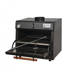 Pira 70 Lux Black Charcoal Oven