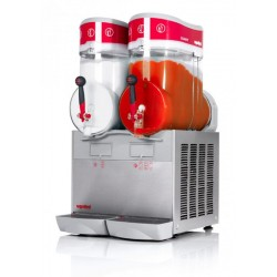 Italian 2 Twin Canister Slush Maker