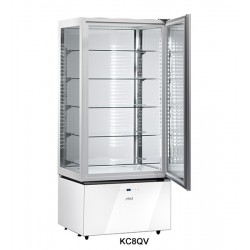 Sagi Chocolate Display Cabinet Luxor White KC8QV