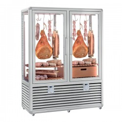 Silfer Upright Meat Display Double Door