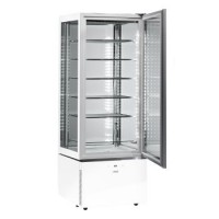 Sagi Upright Ice Cream Slim White Display Luxor