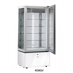Sagi Upright Ice Cream Ventilated White Display Luxor