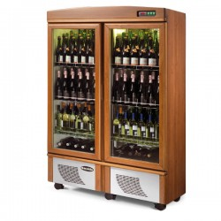 Scaiola 2 (Two) Door Wine Cabinet Fridge ''Cantina''